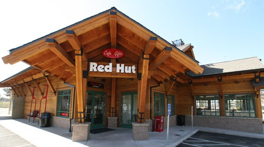 Red Hut Cafe - Ski Run location serves dinner also.