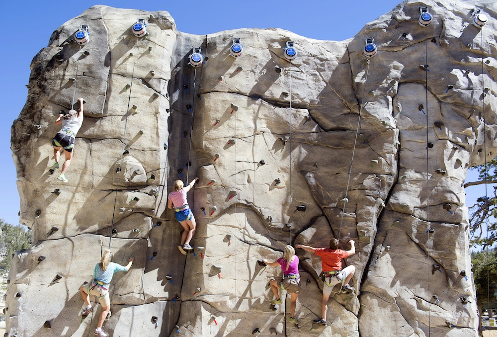 Epic Discovery Climbing Wall