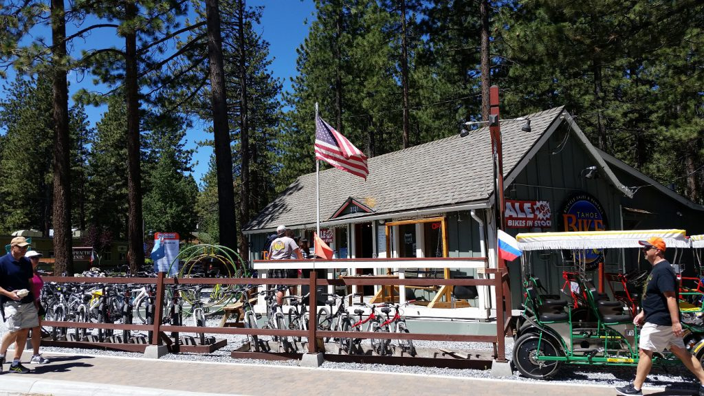Lake Tahoe Bike Rentals 2