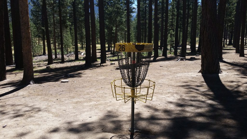 Lake Tahoe Disc Golf Courses - Bijou hole 26