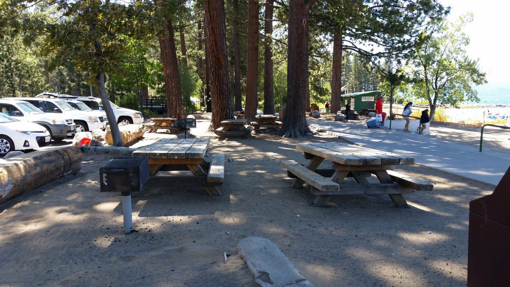 Lake Tahoe Lie Music - picnic