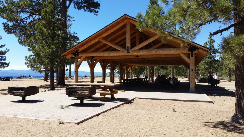 Nevada Beach -Pavilion