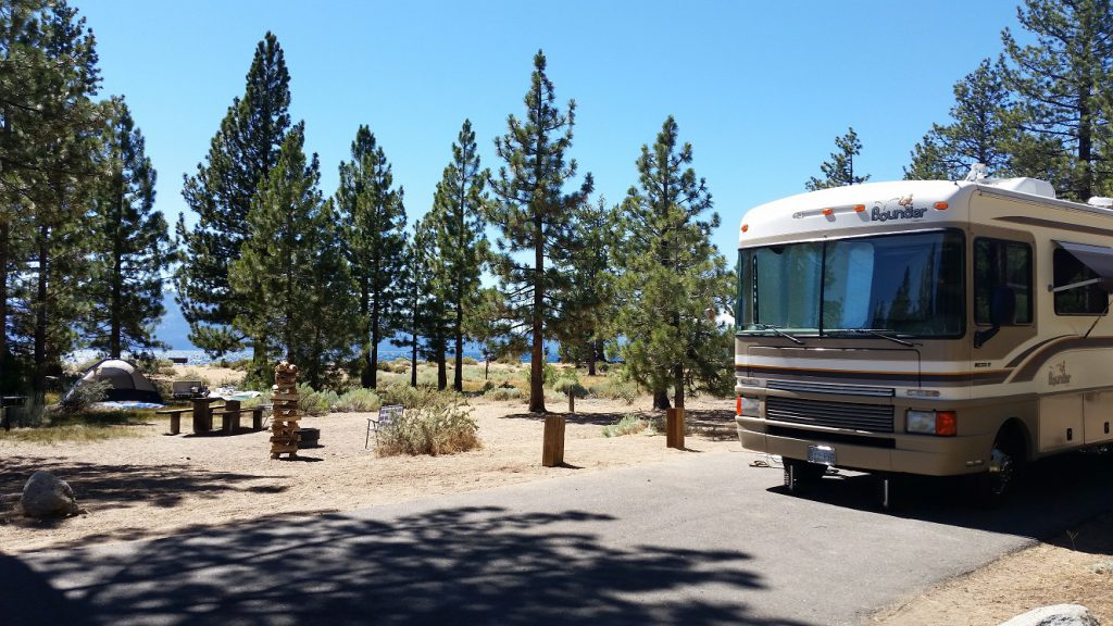 Nevada Beach - RV site