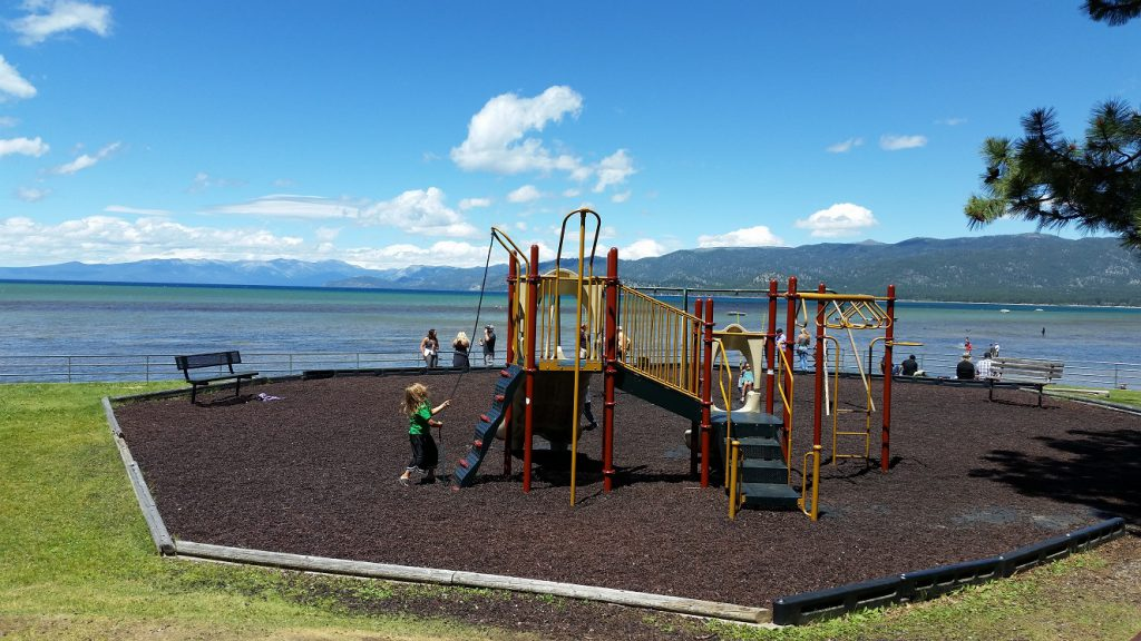 Regan Beach South Lake Tahoe Beaches Playground