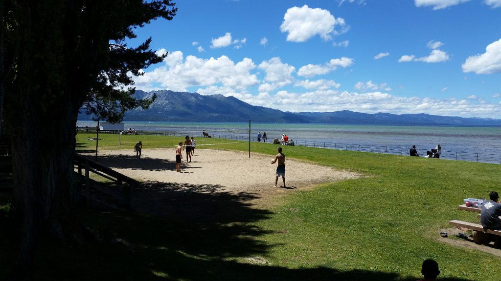 Regan Beach South Lake Tahoe Beaches Volleyball