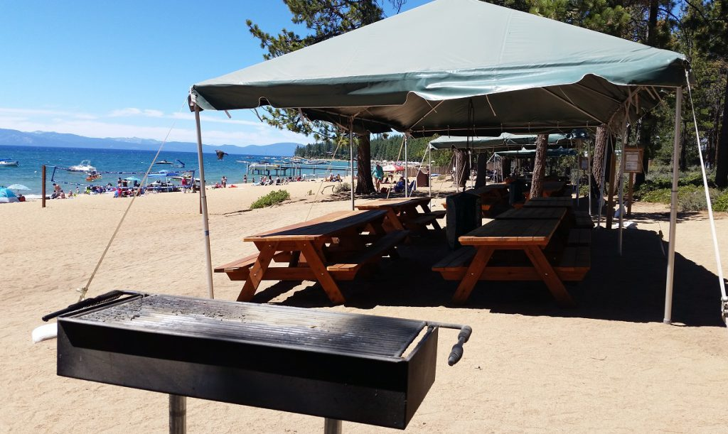 Round Hill Pines Beach - Picnic area