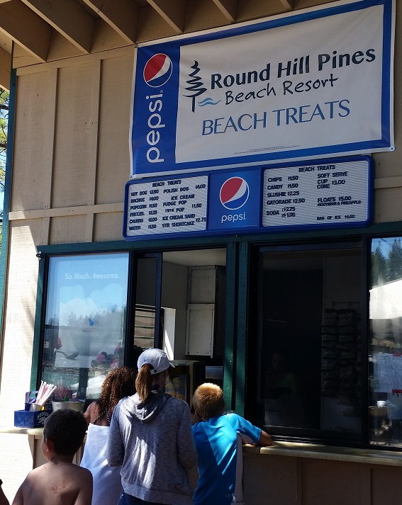 Round Hill Pines Beach - Snack Bar
