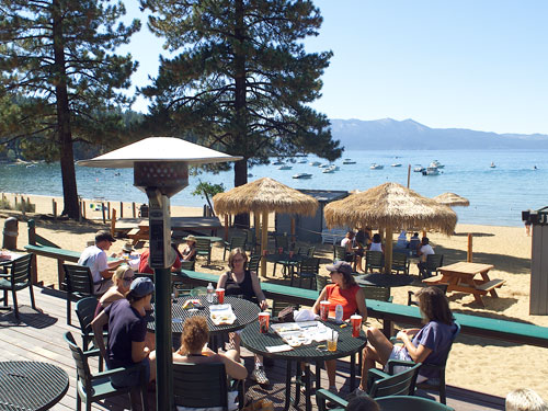 Zephyr Cove Resort Is A Historic On The Lake Side Of Highway 50 Sunset Bar Makes Best Mai Tai Drinks In Tahoe