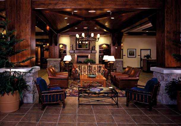 Timber Lodge Lobby