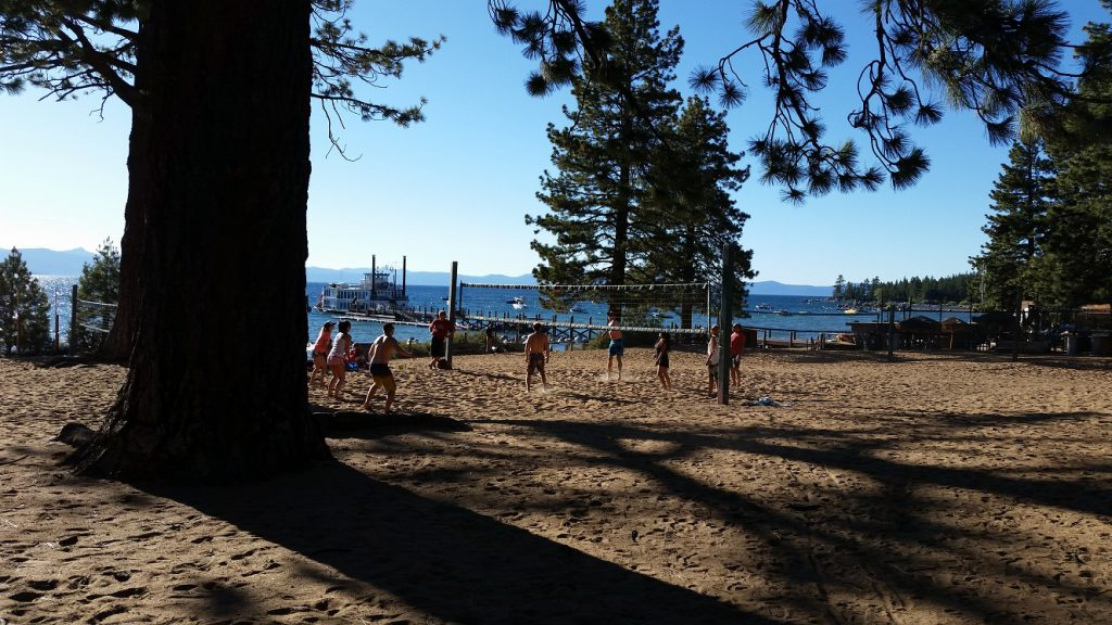 Zephyr Cove Resort South Lake Tahoe Beaches volleyball