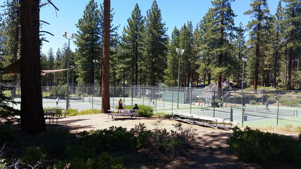 Zephyr Cove Park - tennis courts
