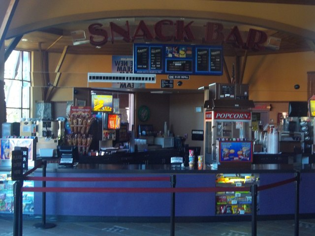 Heavenly Cinema Snack Bar