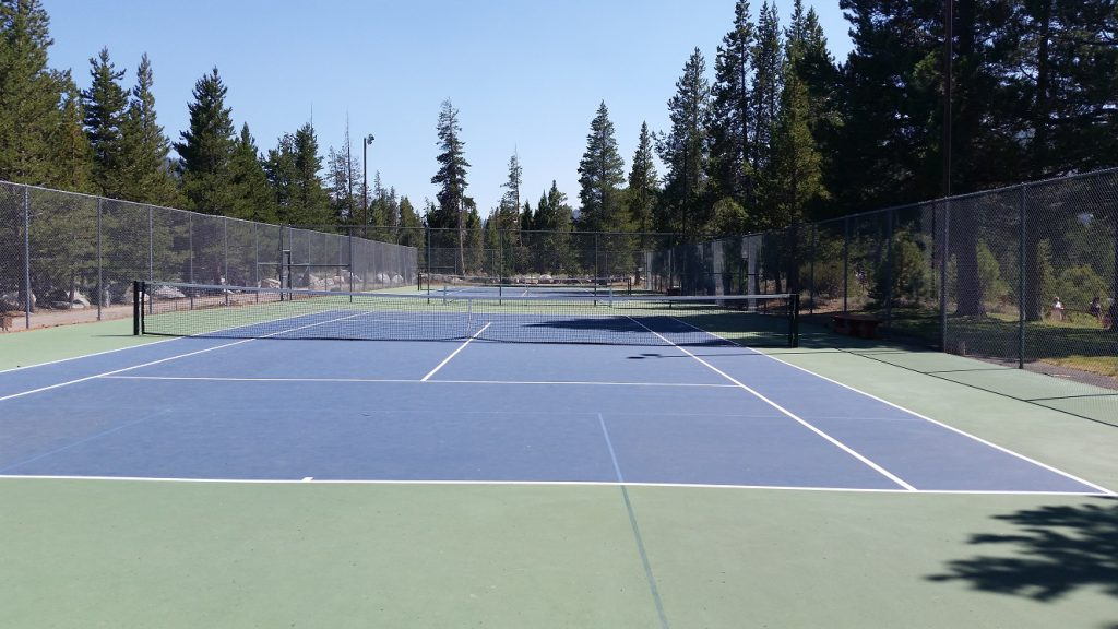 Paradise Tennis Courts - South Lake Tahoe Parks